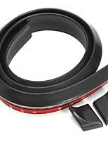 Недорогие -автомобиль универсальный сплошной цвет резиновый хвост / бесплатная штамповка давление хвост крыло спойлер маленький хвост сплошной цвет черный