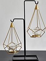 Недорогие -Декоративные объекты, Железо Современный современный для Украшение дома Дары 2pcs