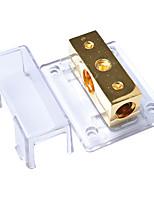 Недорогие -2-полосная автомобильная аудиосистема с солнечными усилителями / блок разветвления силового кабеля / заземления 1 / 0ga