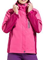 Недорогие -Жен. Куртка для туризма и прогулок на открытом воздухе Осень Зима Водонепроницаемость С защитой от ветра Теплый Удобный Верхняя часть Походы / туризм / спелеология Путешествия