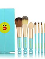 Недорогие -профессиональный Кисти для макияжа 8шт Очаровательный Мягкость Новый дизайн удобный Деревянные / бамбуковые за Косметическая кисточка