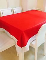 Недорогие -Современный 75 гр / м2 полиэфирная эластичная ткань Квадратный Скатерти Настольные украшения
