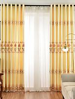 Недорогие -две панели нордический стиль полноценный полые растворимые в воде вышивка занавес гостиная спальня столовая занавес
