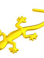 Недорогие -Наклейка водонепроницаемый светоотражающая наклейка стайлинга автомобилей мотоцикл стикер геккон логотип наклейки стикер украшения автомобиля стикер золото и серебро