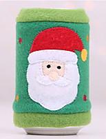 Недорогие -Декорации Праздник Хлопковая ткань Мини Оригинальные Рождественские украшения