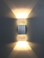 Недорогие -Новый дизайн Современный современный Настенные светильники Гараж / кафе Алюминий настенный светильник IP44 общий 6 W