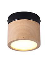 Недорогие -Потолочные светильники Рассеянное освещение Окрашенные отделки Металл Дерево / бамбук 110-120Вольт / 220-240Вольт