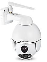 Недорогие -Wanscam K54 2-мегапиксельная IP-камера 6-мм объектив Wi-Fi поддержка 4-кратный цифровой зум (увеличить масштаб приложения) ночного видения на открытом воздухе ip66