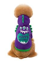 Недорогие -собаки толстовка с капюшоном толстовка для собак цитаты&усилитель; Поговорки полосы фуксия розовый серый флис ткань костюм для померанского пуделя такса осень весна унисекс простой стиль