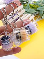 Недорогие -Брелок чашка корейский Мода Элегантный стиль Модные кольца Бижутерия Белый / Лиловый / Желтый Назначение Повседневные Свидание