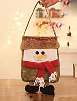 Недорогие -Подарочные мешки Праздник Хлопковая ткань Мини Оригинальные Рождественские украшения