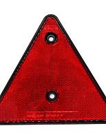Недорогие -Автомобиль задний красный отражатель треугольник отражатель для трейлера williams трейлер модели d4390r