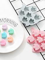 Недорогие -3d силиконовое мыло формы формы единорог льда кубик конфеты шоколадный cakediy печенье выпечки формы хлеб 2 шт.