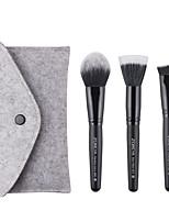 Недорогие -профессиональный Кисти для макияжа 3шт Мягкость Cool удобный Деревянные / бамбуковые за Косметическая кисточка
