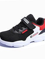 Недорогие -Мальчики Удобная обувь Полиуретан / Flyknit Спортивная обувь Большие дети (7 лет +) Беговая обувь Серый / Красный / Синий Осень / Лозунг