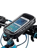 Недорогие -водонепроницаемый сенсорный экран телефона сумка мотоцикл езда на велосипеде руль трубка поворотный - b