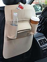 Недорогие -Многофункциональный автомобильный чехол для хранения спинки заднего сиденья карманы протектор органайзер автоаксессуары