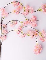 Недорогие -Искусственные Цветы 1 Филиал С креплением на стену Современный современный Розы Цветы на стену