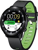 Недорогие -sw05 сенсорный круглый экран сердечного ритма артериальное давление 2019 новый ip68 bluetooth смарт спортивные часы