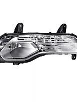 Недорогие -противотуманные фонари переднего бампера автомобиля фары левый (# 1) / правый (# 2) с 3-мя галогенными лампами для Ford Escape Kuga 2013-2016 -