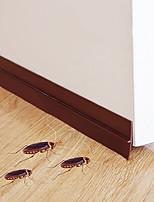 Недорогие -Самоклеящаяся нижняя лента для оконных дверей 2м резиновая уплотнительная прокладка уплотнительная планка для раздвижных дверей