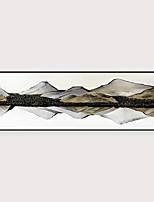 Недорогие -Отпечаток в раме Набор в раме - Пейзаж Полистирен Масляные картины Предметы искусства