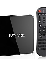 Недорогие -h96 max x2 тв бокс андроид 9.0 4 Гб оперативной памяти 64 Гб ROM amlogic s905x2 1080p h.265 4k google store медиаплеер netflix youtube h96max 2g16g умный андроид 8.1 usb3.0 двойной приставка wifi