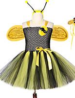 Недорогие -популярная ручной работы принцесса девочки пчелиные пачки с крыльями повязка на голову волшебная палочка