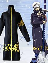 Недорогие -Вдохновлен One Piece Косплей Аниме Косплэй костюмы Японский Косплей Костюмы Пальто Назначение Муж.