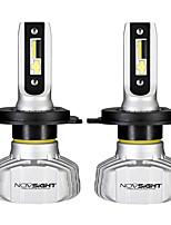 Недорогие -2 шт. Novsight a500-n15 50 Вт 10000lm светодиодные автомобильные фары противотуманные фары h1 h3 h4 h7 h11 9005 9006 6500k