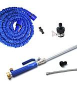 Недорогие -18 Алюминий высокого давления с электроприводом омывателя с водяным шлангом 50 футов водопроводной трубы с удлинительной трубкой