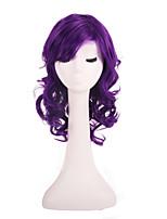 Недорогие -Косплей Принцесса Косплэй парики Жен. 20 дюймовый Синтетика Фиолетовый Лиловый Аниме