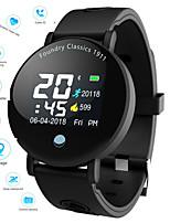Недорогие -Смарт Часы Цифровой Современный Спортивные силиконовый 30 m Защита от влаги Пульсомер Bluetooth Цифровой На каждый день На открытом воздухе - Черный Черный / Синий Черный / серый