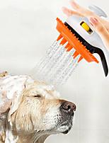 Недорогие -Собаки Животные опрыскиватель Ополаскиватель разбрызгиватель Для душа Полный силикон для тела Пластиковые & Металл Ванночки Прочный Оранжевый Зеленый Розовый 1