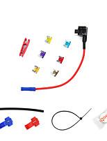 Недорогие -мини 12v автомобильный адаптер цепи предохранителя лезвие держатель предохранителя gps навигатор прикуриватель добавил наборы инструментов modelsa1937