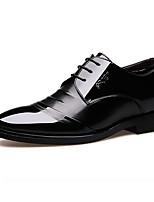 Недорогие -Муж. Комфортная обувь Микроволокно Лето Туфли на шнуровке Черный