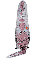 Недорогие -Динозавр Надувной костюм Взрослые Муж. Хэллоуин Хэллоуин Фестиваль / праздник Вискоза / полиэфир Белый Муж. Жен. Карнавальные костюмы / трико / Комбинезон-пижама / Дополнительная батарея коробка