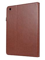 Недорогие -Кейс для Назначение Apple iPad 4/3/2 Магнитный / Авто Режим сна / Пробуждение Чехол Однотонный Кожа PU / ТПУ