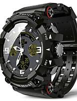 Недорогие -Муж. Смарт Часы Цифровой Спортивные Черный 30 m Защита от влаги Bluetooth Smart Цифровой На каждый день - Черный Темно-зеленый Один год Срок службы батареи