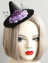 Недорогие -Жен. Массивный Винтаж модный Ткань Сплав шляпа Заколки для волос Halloween Тематическая вечеринка