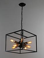 Недорогие -8-Light Фонариком Подвесные лампы Рассеянное освещение Электропокрытие Окрашенные отделки Металл 110-120Вольт / 220-240Вольт
