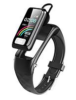 Недорогие -Интеллектуальный браслет Bluetooth фитнес-трекер&поддержка беспроводных наушников уведомление / совместимый монитор сердечного ритма Samsung / Iphone / Android телефонов