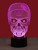 Недорогие -BRELONG® 1шт Ночные светильники Цветной USB Творчество / Меняет цвета / Простота транспортировки 5 V