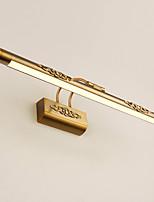 Недорогие -70 см 16 Вт континентальный деревенский стиль гальваническим металлический поворотный кронштейн фары американский винтаж светодиодный зеркало в спальне лампы ванная комната огни