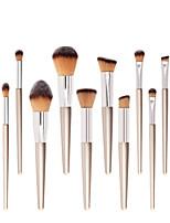 Недорогие -профессиональный Кисти для макияжа 10 шт. Мягкость Новый дизайн удобный Деревянные / бамбуковые за Косметическая кисточка