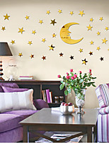 cheap -Stars / 3D Wall Stickers Mirror Wall Stickers Decorative Wall Stickers, Acrylic Home Decoration Wall Decal Wall Decoration 1pc