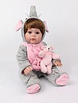 Недорогие -NPK DOLL Куклы реборн Куклы Мальчики Девочки 20 дюймовый Силикон - Безопасность Подарок Очаровательный Детские Универсальные / Девочки Игрушки Подарок