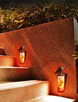 Недорогие -1шт 3 Вт настенный светильник солнечный настенный светильник водонепроницаемый / солнечный / декоративный теплый белый 3.7 В наружное освещение / бассейн / внутренний двор 102 светодиодные шарики