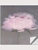 Недорогие -С картинкой Роликовые холсты - Абстракция ботанический Modern Репродукции