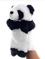 Недорогие -Панда Мягкие и плюшевые игрушки Очаровательный Взаимодействие родителей и детей Переносной В китайском стиле Хлопок / полиэфир Все Игрушки Подарок 1 pcs